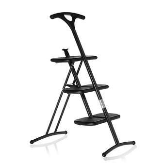 Kartell Tiramisu Vouwladder Ladders & trappen Grijs Kunststof