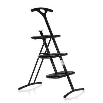 Kartell Tiramisu Vouwladder Ladders & trappen Zwart Kunststof