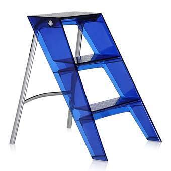 Kartell Upper Ladder Trapjes Blauw Kunststof