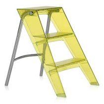 Kartell Upper Ladder Trapjes Geel Kunststof