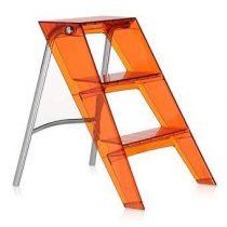 Kartell Upper Ladder Trapjes Rood Kunststof