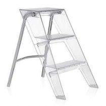 Kartell Upper Ladder Trapjes Transparant Kunststof