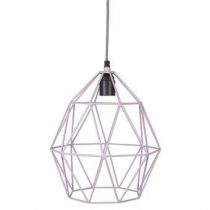 Kidsdepot Wire Hanglamp Verlichting Grijs Kunststof