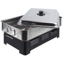 Kitchen Basics Rookoven Deluxe Barbecues Zilver RVS