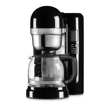 KitchenAid 5KCM1204EOB Koffiezetapparaat Koffie Zwart Kunststof