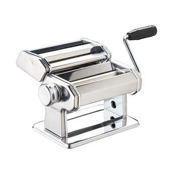 KitchenCraft Deluxe Pastamachine Kookgerei Zilver RVS