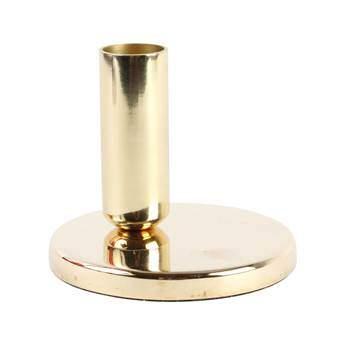 &Klevering Chandelier Single Kandelaar Woonaccessoires Goud Metaal