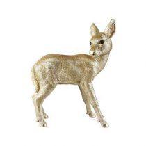 &Klevering Coinbank Deer Spaarpot Woonaccessoires Goud Polyresin