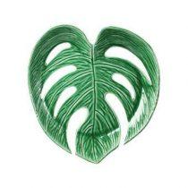 &Klevering Leaf Fruitschaal Large Tafelpresentatie Groen Keramiek