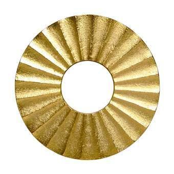 &Klevering Onderzetter Metaal Tafelpresentatie Goud Metaal