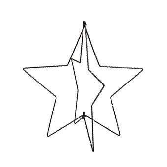 &Klevering Starlight Tafellamp Verlichting Zwart Metaal