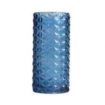 &Klevering Vase 70 Vaas Woonaccessoires Blauw Glas