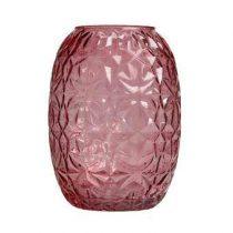 &Klevering Vase 70 Vaas Woonaccessoires Roze Glas