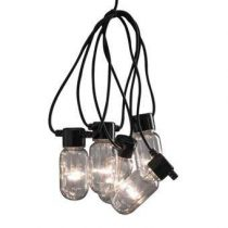 Konstsmide LED Partysnoer 4.5m Buitenverlichting Zwart Kunststof