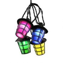 Konstsmide LED Partysnoer 4.75m Buitenverlichting Zwart Kunststof