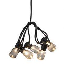Konstsmide LED Partysnoer 4.75m Tuindecoratie Zwart Kunststof