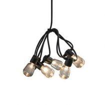 Konstsmide LED Partysnoer 9.75m Tuindecoratie Zwart Kunststof