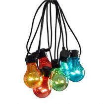 Konstsmide LED Partysnoer Multicolor 9.5m Tuindecoratie Multicolor Kunststof