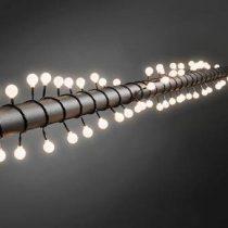 Konstsmide LED Prikkabel Globe 6.32m Tuindecoratie Zwart Kunststof
