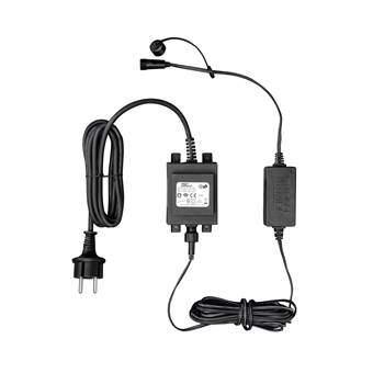Konstsmide LED Startset Aansluitsnoer Buitenverlichting Zwart Kunststof