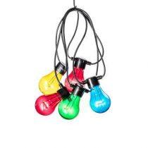 Kontsmide LED Partysnoer 5 lichtbronnen/2 m Buitenverlichting Multicolor Kunststof