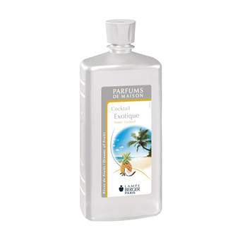 Lampe Berger Parfum Navulling Exotic Cocktail 1 L Woonaccessoires Wit Kunststof