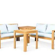 Lanterfant® Loungeset Bo Tuinmeubelen Blauw Hout
