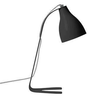 Leitmotiv Barefoot Tafellamp Verlichting Zwart Metaal