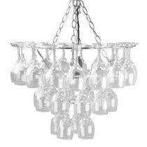 Leitmotiv Hanglamp Wijnglazen Verlichting Transparant