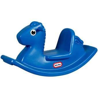 Little Tikes Hobbelpaard Buitenspeelgoed Blauw Kunststof