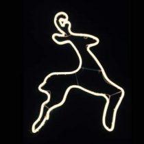 Luca Lighting Kabelverlichting Springend Hert Buitenverlichting Wit Metaal