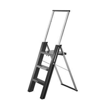 Magis Flo Ladder Trapjes Grijs Aluminium