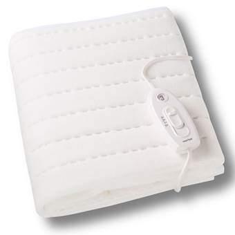 Martex MD134i Elektrische Onderdeken Slapen & beddengoed Wit Polyester