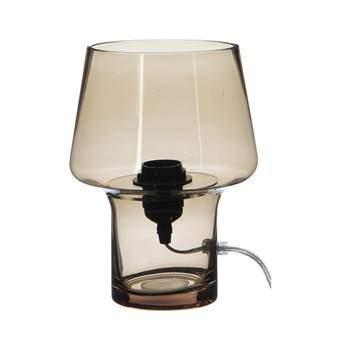 Mica Fillo Tafellamp Verlichting Bruin Glas
