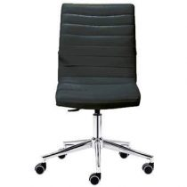 Midj Istar D-B Bureaustoel Bureaus & bureaustoelen Zwart