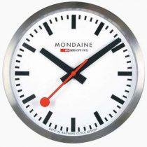 Mondaine Swiss Railways Wandklok Ø 25 cm Klokken Zilver Metaal
