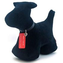 Monica Richards Max the Dog Deurstopper Hal accessoires Zwart Textiel