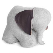 Monica Richards Mrs. Rosie the Elephant Deurstopper XL Hal accessoires Grijs Marmer