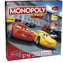 Monopoly Junior Cars 3 Spellen & vrije tijd Multicolor Karton