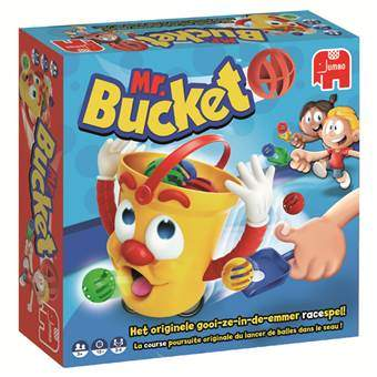 Mr. Bucket Bordspellen Multicolor Karton