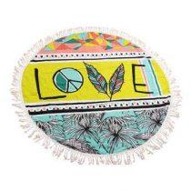 Mycha Ibiza Love Roundie  Badtextiel Multicolor Katoen