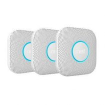 Nest Protect V2 Battery Rook- & Koolmonoxidemelder 3-Pack Veiligheid & beveiliging Wit
