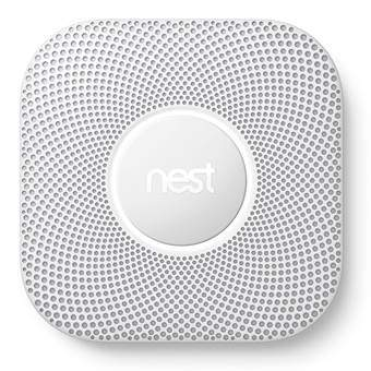 Nest Protect V2 Battery Rook- & Koolmonoxidemelder Veiligheid & beveiliging Wit