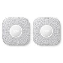 Nest Protect Wired Rook- & Koolmonoxidemelder V2 - 2 st. Veiligheid & beveiliging Wit