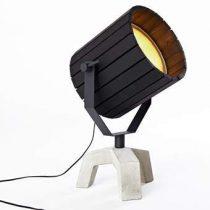 New Duivendrecht Barrel Vloerlamp Verlichting Zwart Beton