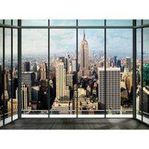 New York Skyline Fotobehang 232 x 315 cm Wanddecoratie & -planken Multicolor