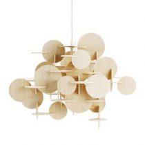 Normann Copenhagen Bau Hanglamp Verlichting Beige Hout