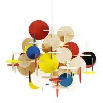 Normann Copenhagen Bau Hanglamp Verlichting Multicolor Hout