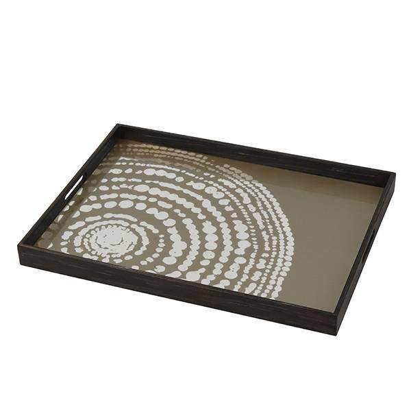 Notre Monde Beaded 46 cm dienblad / tafel DienbladWoonkamer