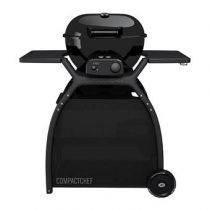 Outdoorchef Compact Chef Gasbarbecue Barbecues Zwart Staal